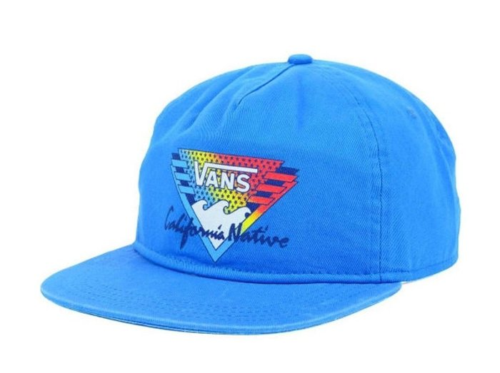 { POISON } VANS CLASSIC CALIFORNIA SNAPBACK POLO HAT 燈芯後扣棒球帽