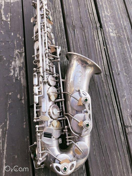♪ 后里薩克斯風玩家館 ♫『 Selmer Alto Sax 80 Serie (801).鍍銀.中古.#34xxxx