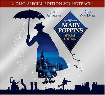 正版2CD《歡樂滿人間》豪華版+30頁精美小冊- 茱麗安德魯絲/ Mary Poppins 全新未拆