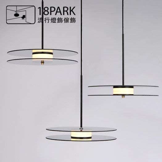 【18Park 】視覺藝術 Luminous [ 光韻吊燈-橫 ]