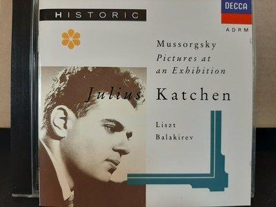Katchen,Moussorgsky-Pictures At an Exhibition etc卡欽鋼琴,演繹穆梭斯基-展覽會之畫,李斯特-馬采巴圓舞曲等