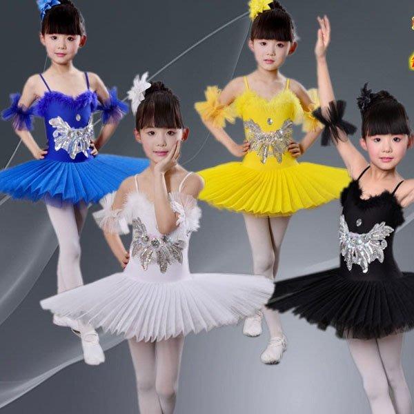 5Cgo【鴿樓】會員有優惠 529530373177 兒童芭蕾舞裙tutu裙蓬蓬裙舞蹈服演出服裝女童公主裙表演練功服