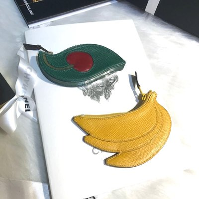 Hermès vintage fruits wallets 愛馬仕水果零錢包��