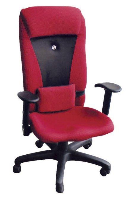 【南洋風休閒傢俱】辦公家具系列-可調椅背有手辦公椅 辦公書桌椅 (金631-8)