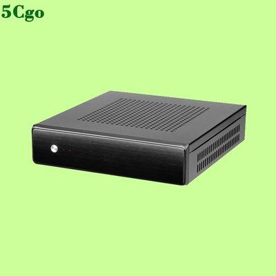 5Cgo【含稅】立人E-T4/T3升級版迷你Thin-ITX立式HTPC空機殼支持VESA機箱547097877735