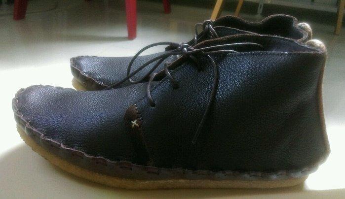 [現貨 真品] 英國 Folk clothing 全新 皮靴 Saul 咖啡 盒 paul smith 鞋 12800元