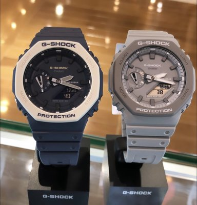 【WILLYAN】全新現貨 CASIO G-SHOCK GA2100 AP GA2110 海軍藍  八角 灰色台灣公司貨