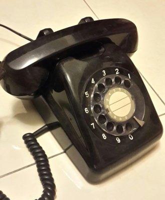1970年代~日本製~古董電話~轉盤式