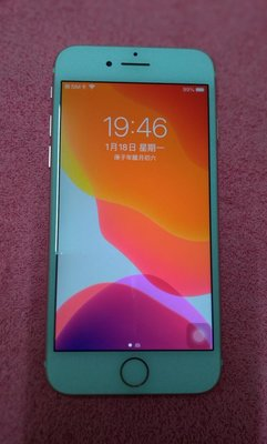 Apple iPhone 8台灣公司貨 i8  128G  4.7吋 二手金色手機系統版本 iOS 14.6外觀九成新使用功能正常