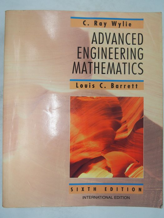 【月界】Advanced Engineering Mathematics-6e(絕版)_Wylie 〖大學理工醫〗AHB