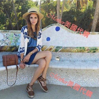 Mother ♥ 美國代購 chiara ferragni 愛款刺繡流蘇外套 約會 海邊渡假