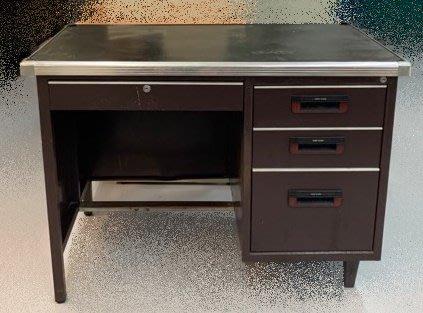 【宏品二手家具賣場】C50305*4抽書桌*主管桌 電腦桌 會議桌 寫字桌 中古oa辦公家具拍賣二手辦公家具特賣