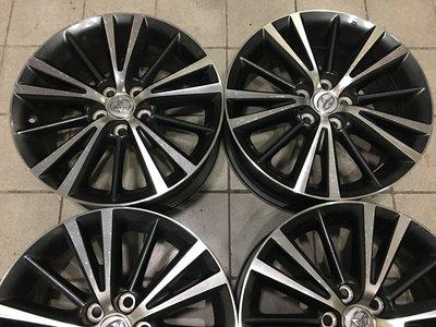 很新 ALTIS原廠 雙色 16吋鋁圈 5孔100 豐田 WISH SIENTA PREMIO EXSIOR