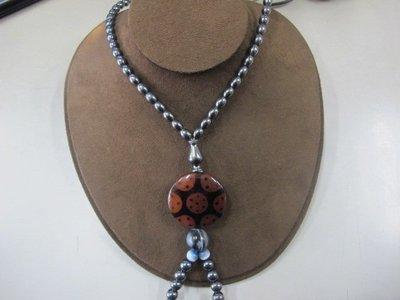 二手舖 NO.1123 健康磁石 天珠項鍊