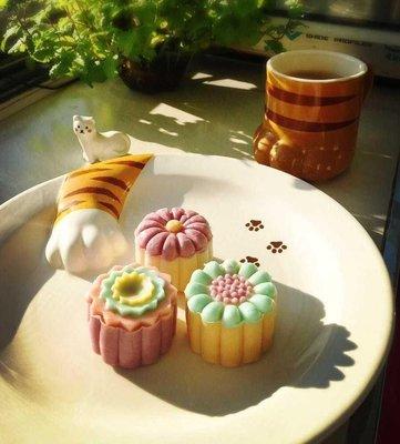 香河竹藝行~~~日式zakka風格立體貓爪餐盤可愛喔!