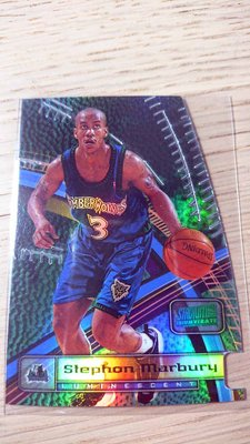98-99 STADIUM CLUB TRIUMVIRATE LUMINESCENT #T3A S. MARBURY