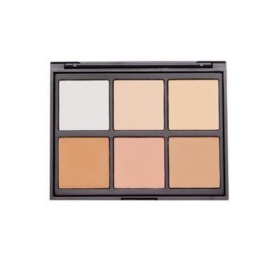 【愛來客 】美國Morphe 06PC - COOL PRO DEFINITION PALETTE 打亮修容盤