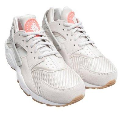 ㊣洛克代購㊣正品 Nike Air Huarache Run TXT 米灰色 武士鞋 男女慢跑鞋