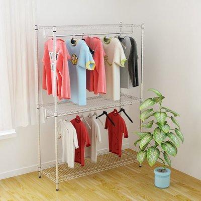 [客尊屋] 重型46X122X180H,兒童雙層衣櫥, 衣櫃,收納衣物,雙衣桿衣架㊣台灣製造㊣