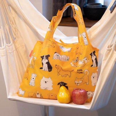 ☘小宅私物☘ 日本 Prairie Dog 設計包 (狗寶貝) 環保購物袋 摺疊購物袋 環保袋 購物袋 現貨附發票