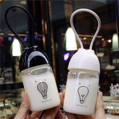 玻璃杯便攜小水杯韓國學生小號可愛杯子迷你隨手杯創意潮流女≡ˇ≡