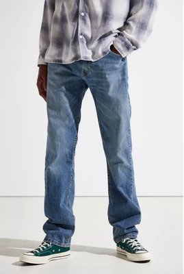 【有機棉新款29-42腰優惠】美國LEVI S 505 Eco Spotted 水洗藍彈性 中直筒 牛仔褲 丹寧褲501