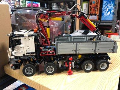 (N)無盒 眼見所有 有塵塵塵 Lego Technic 42043 Mercedes-Benz Arocs 3245 MISB