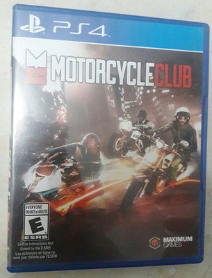 PS4 Motorcycle Club 電單車俱樂部 賽車 game 遊戲