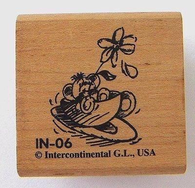 陽光一品DIY卡片印章專賣店~~木頭印章--可愛小老鼠~ # IN-06 #~超低價起標~~