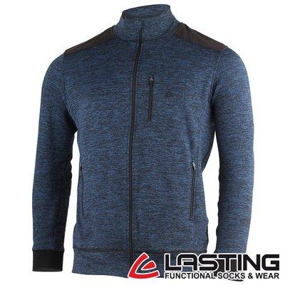 丹大戶外用品【LASTING】歐都納 男款羊毛外套 LT-WAROL 麻花藍