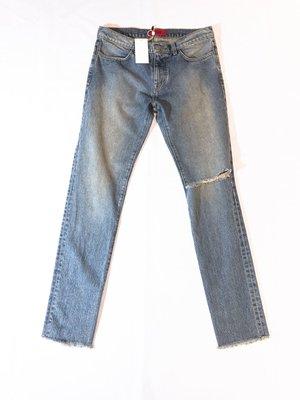 424C AW19 Distressed 4 Pocket jeans. 牛仔褲