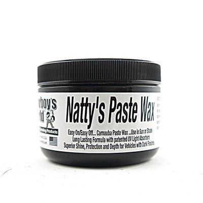 『好蠟』Poorboys Natty's Black Paste Wax 8 oz. (窮小子極黑棕櫚蠟)