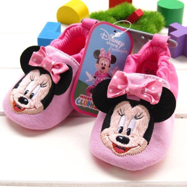 寶貝倉庫~ 米妮不掉鞋~學步鞋~嬰兒鞋~防滑~室內不掉鞋~家居布鞋~寶寶鞋~彌月贈禮