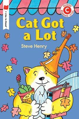 *小貝比的家*CAT GOT A LOT/I LIKE TO READ C/平裝/3~6歲