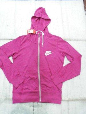 【n0900台灣最便宜】2018 Nike-女運動輕薄柔連帽運動外套  545666-607  -Gym Vintage