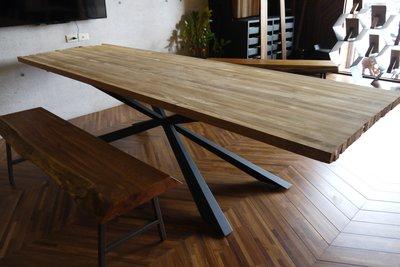 【緬甸柚木-TKWOOD】客製化鐵腳/桌腳/椅腳-  米造型