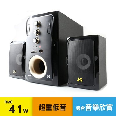 J-S 2.1聲道全木質多媒體喇叭【JY3083】-桃園承巨音響
