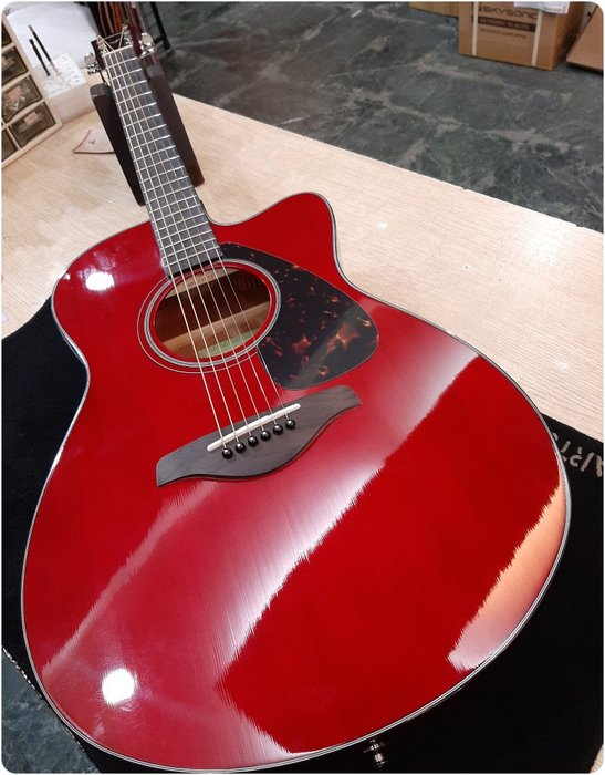 ♪♪學友樂器音響♪♪ YAMAHA FSX800C 電木吉他 民謠吉他 雲杉面單板 切角 內建EQ