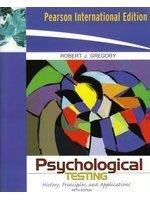老殘二手書 Psychological Testing 0205504663