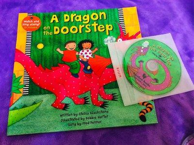 """tutuMonster""英文有聲書 A Dragon on the Doorstep"