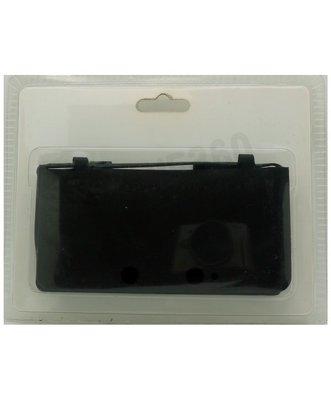 任天堂 Nintendo 3DS  I.Like 果凍套(黑色)【台中恐龍電玩】