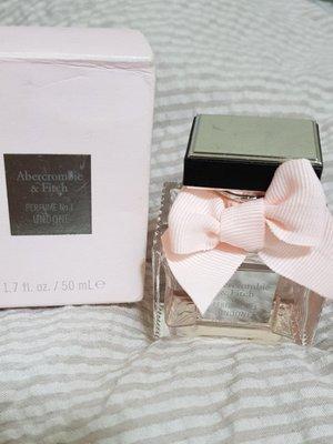 Abercrombie & Fitch美國品牌No.1 UNDONE AF 女香 50ml (粉瓶) 二手 正品 直購 新北市
