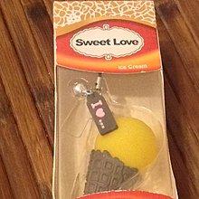 全新sweet love甜筒吊飾
