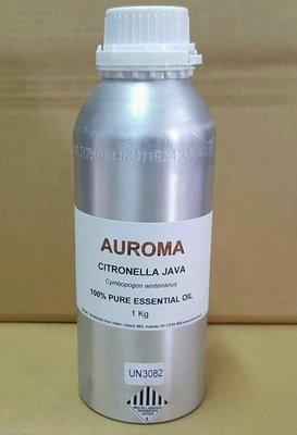 AUROMA香茅精油100%.100ml分裝瓶