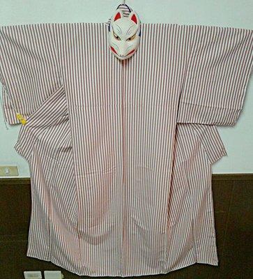 [兔尾屋和服專賣] 條紋式 肉粉色系