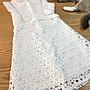 轉賣 Panda.26 全新 白色布蕾小洋裝 M號