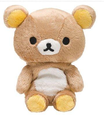 東京家族 可愛懶熊毛絨坐姿公仔 日本正貨