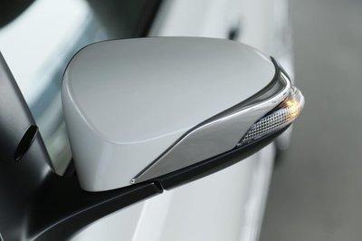 (車之房) 2013 11代 New ALTIS 原廠部品 後視鏡 鍍鉻貼片 電鍍 飾板 消光黑 PRIUS-C CAMRY