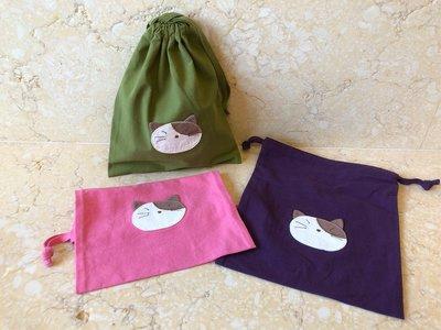 日本卡拉貓~ 經典Gon醬束口收納袋