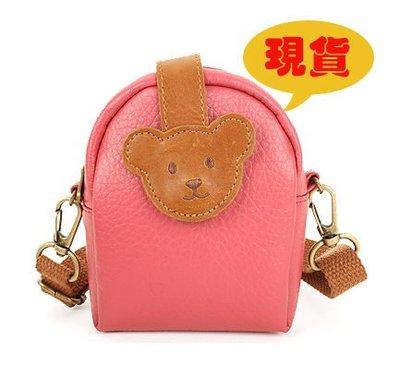 BHB082-韓劇童星愛用品牌WINGHOUSE 小熊兒童休閒包 斜肩包 零錢包 相機包【現貨】正韓
